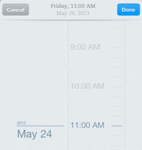 Projektplanung im Kalender mit Erinnerungen