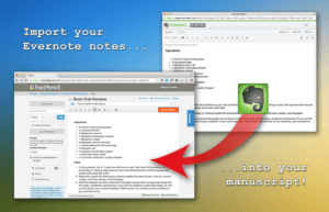 Importing Evernote into Fastpencil