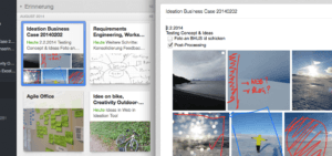 Business Cases als Notizen in Evernote