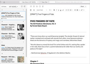 Five Fingers of Fate Note in Evernote