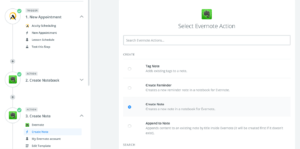 Automated Workflow Evernote and Zapier