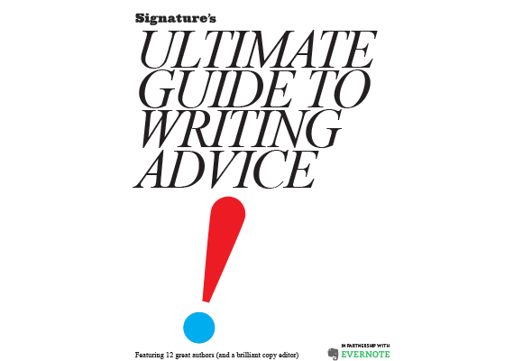 Signature's Ultimate Guide to Writing Advice Ebook Cover