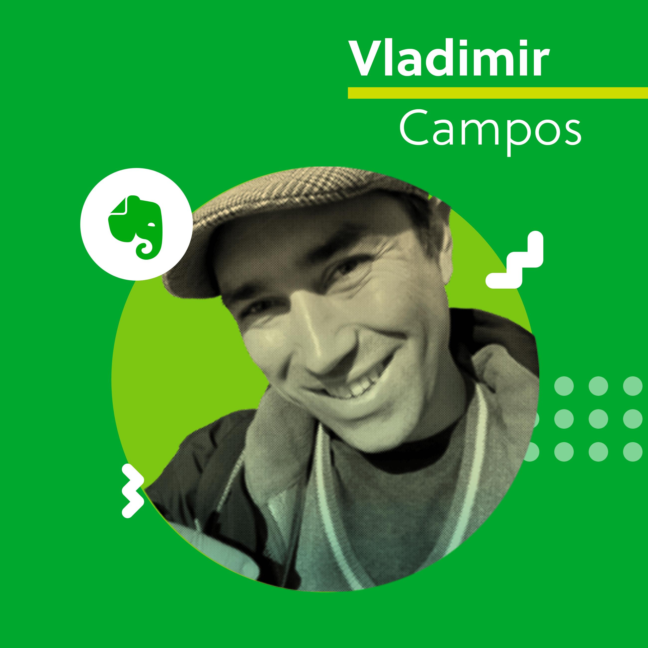 Evernote Certified Consultant Vladimir Campos.