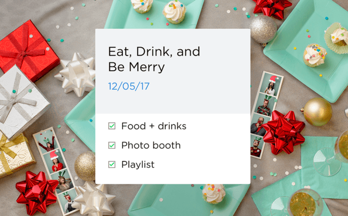 Office Holiday Party Checklist