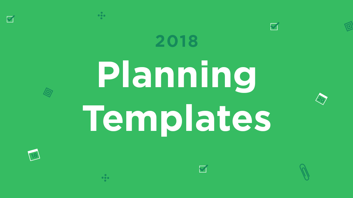 evernote 2018 planner templates