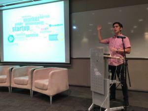 Speaker Adrian Koh Presenting