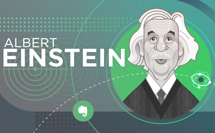 Albert Einstein Evernote Header
