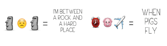 Rock and Hard Face Emojis and Alarm Pig and Plane Emojis When Pigs Fly