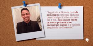 Foto de Marcos Vinicius com citação