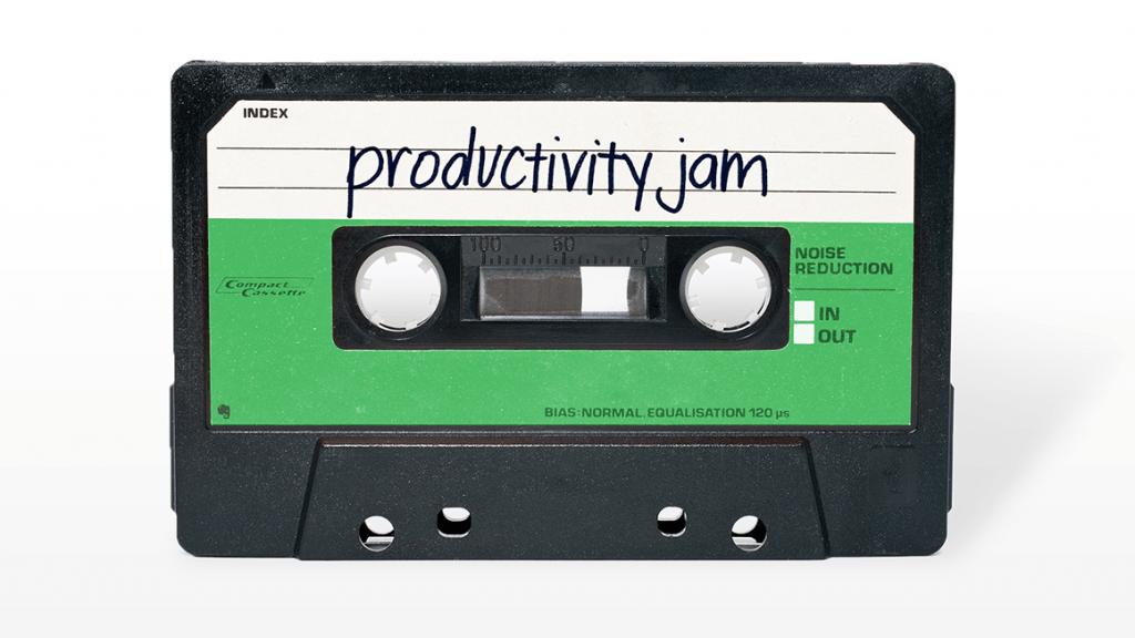 Productivity Jam Cassette Tape