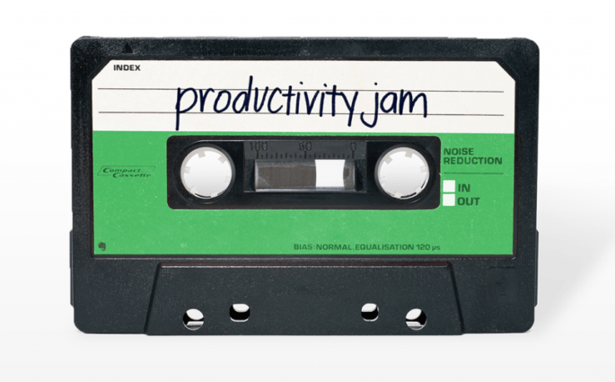 Productivity Jam Cassette Tape