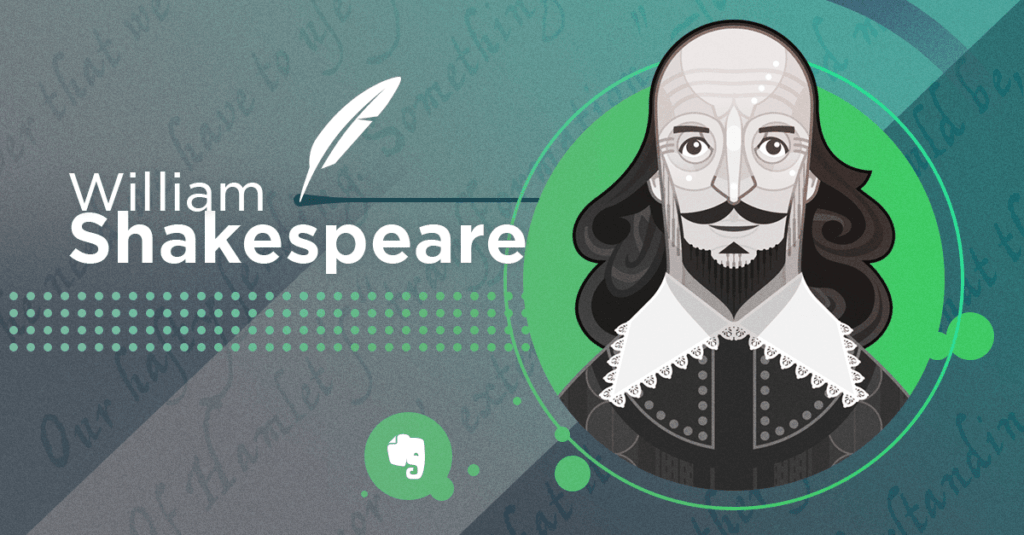 William Shakespeare Illustration