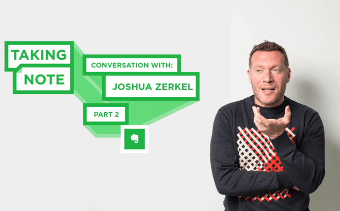 Taking Note Podcast with Joshua Zerkel Part 2