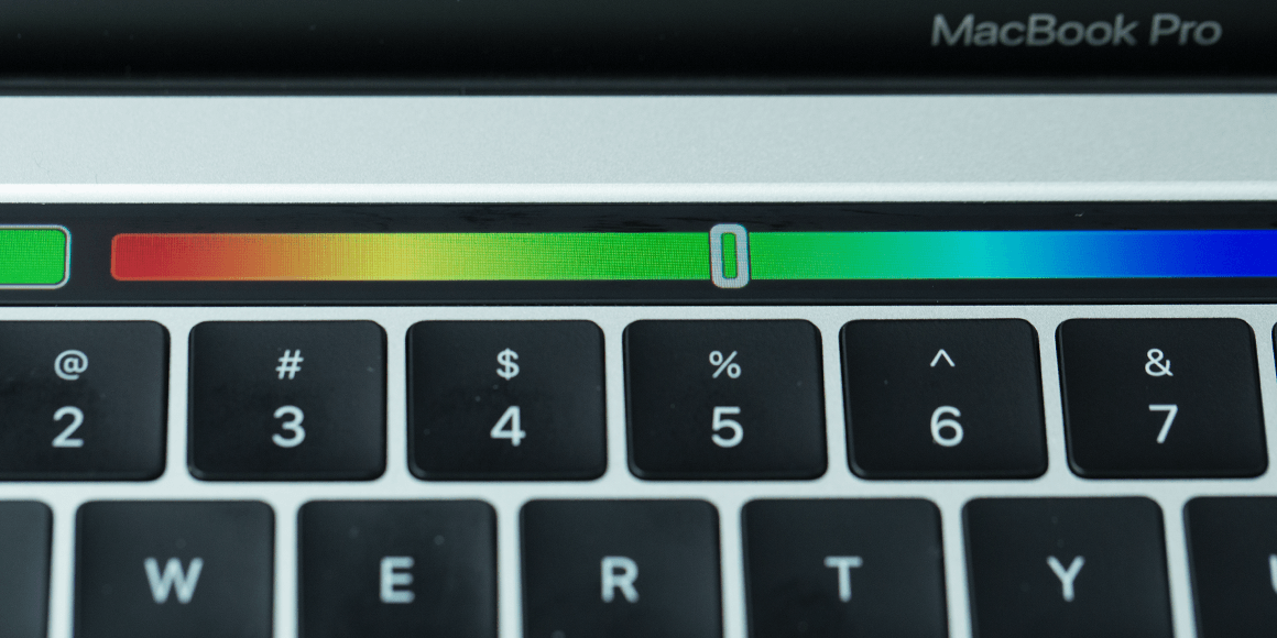 Apple Touch Bar Color Picker