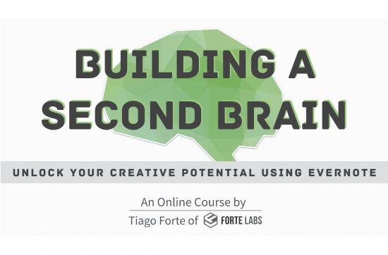 Building a Second Brain Online Course by Tiago Forte