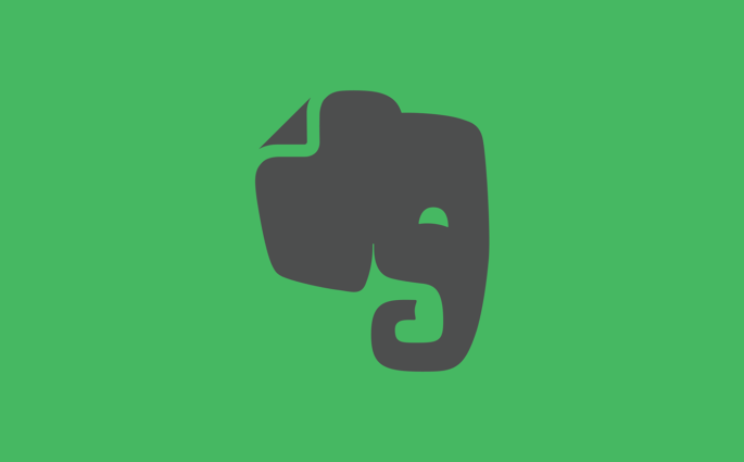 Evernote Logo with Elephant
