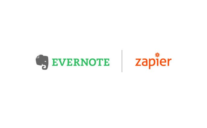 Evernote and Zapier Logos