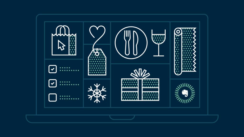 Holiday Items Illustration