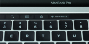 Touch Bar New Note