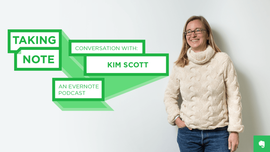 Taking Note Podcast with Kim Scott