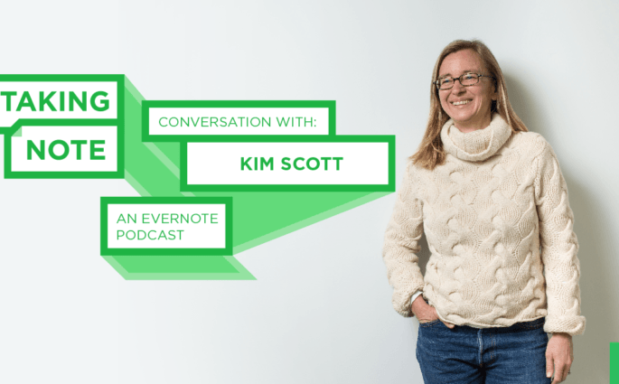 Taking Note Podcast with Kim Scott