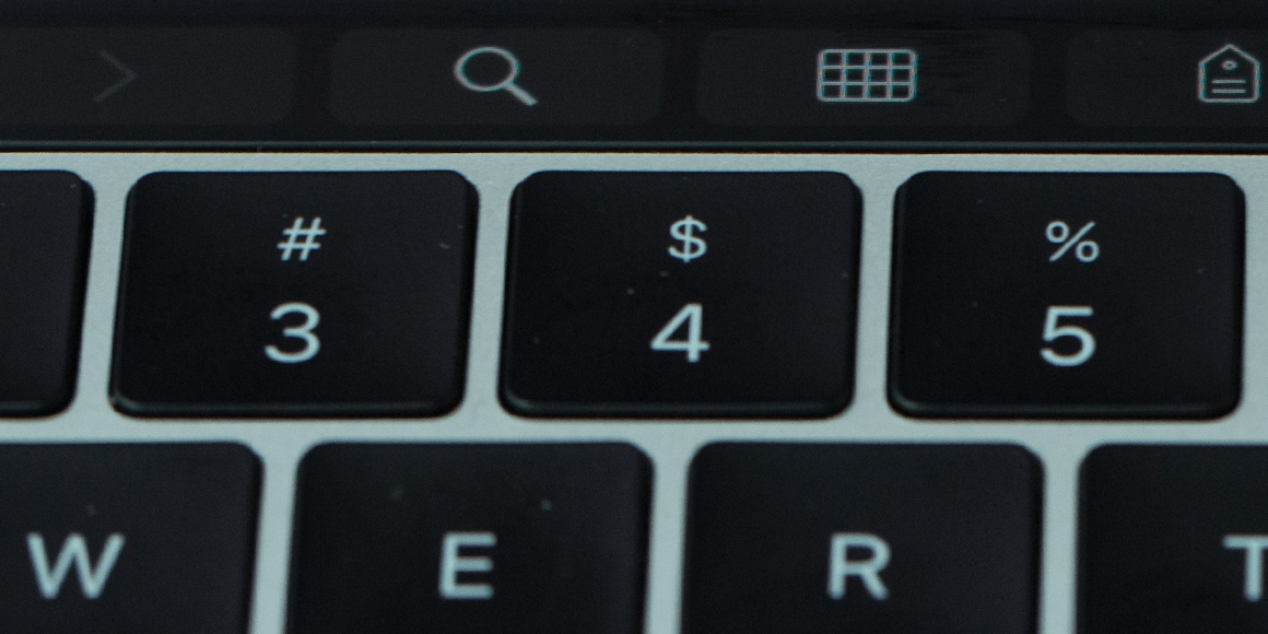Apple Touch Bar Search