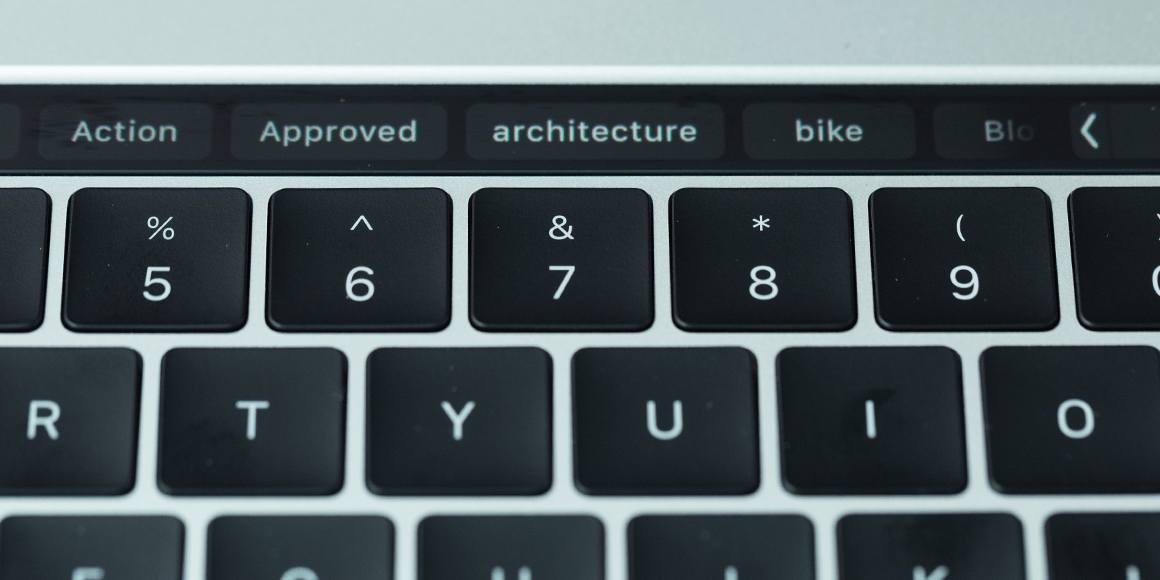 Apple Touch Bar Tags