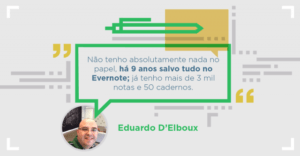 Gerente de CRM Eduardo D'Elboux