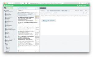 Suche im Webclient von Evernote