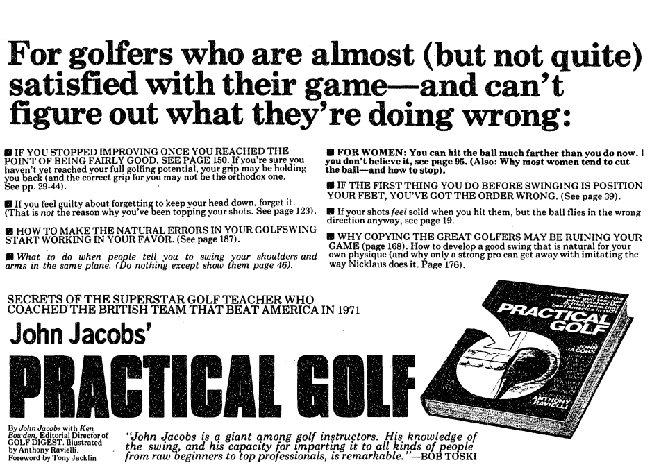 Newspaper Advertisement with Bullet Points