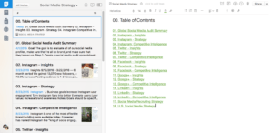 Social Media Strategy Notebook