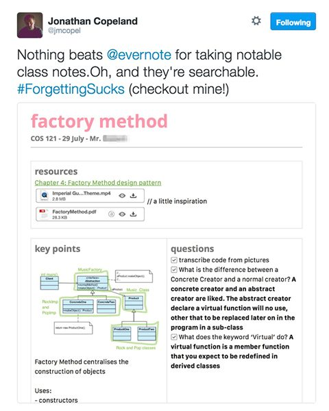 Template for Recurring Notes