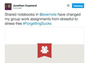 Evernote Shared Notebooks