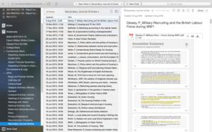 PDF Notiz mit Anmerkungen und Kommentaren
