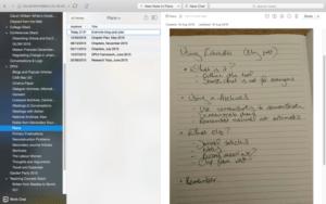 Notiz über Evernote Blog Post