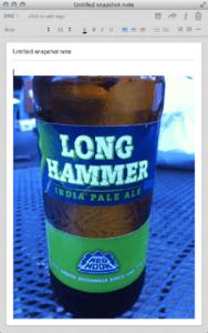 Long Hammer Pale Ale