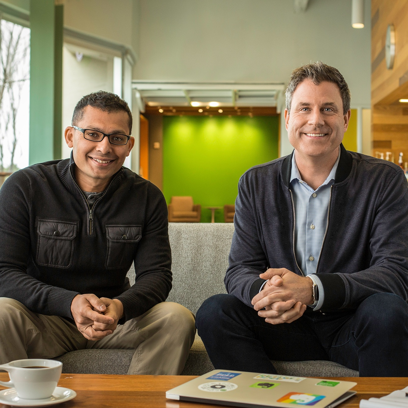 Evernote CEO Chris O'Neill and CTO Anirban Kundu at SXSW