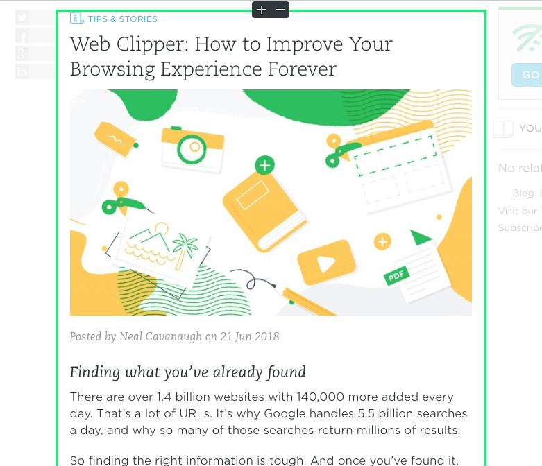 Web Clipper: How to Improve Your Browsing Experience Forever