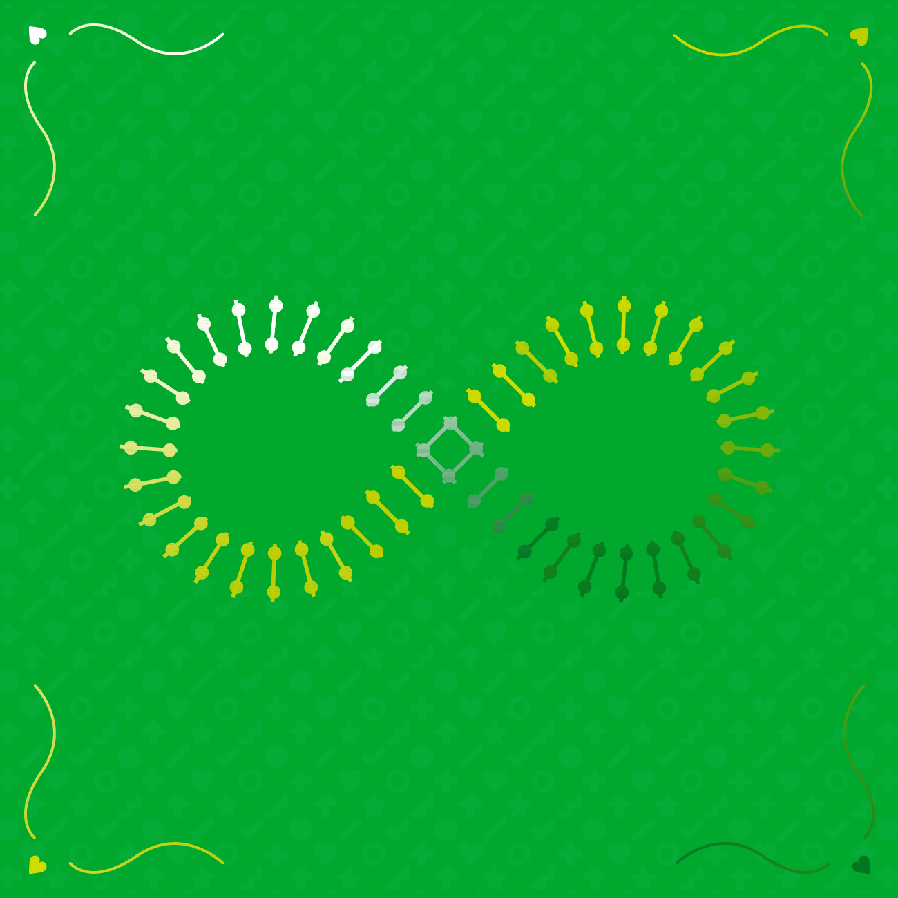 The infinity symbol reimagined as a set of train tracks, representing the persistence of bad habits.